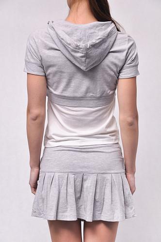 Костюм женский (футболка и юбка) хлопковый арт. 147578