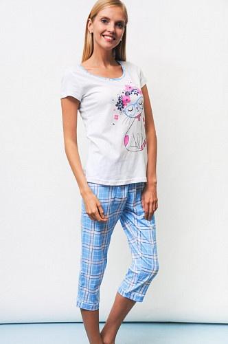 Пижама женская с рисунком арт. 201197