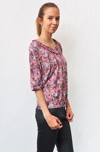 Блузка женская со сборками арт.   204500